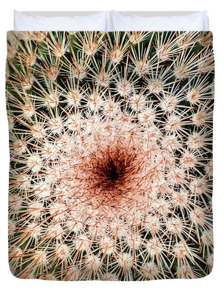 Top Of Cactus Duvet Cover
