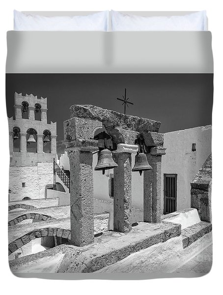 Top Of The Monastery Duvet Cover