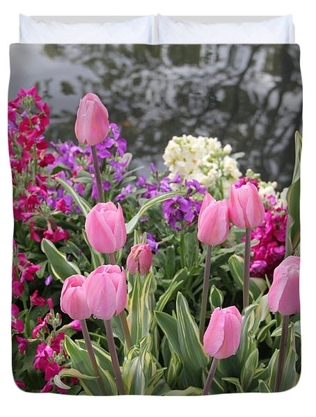 Top View Planter Duvet Cover