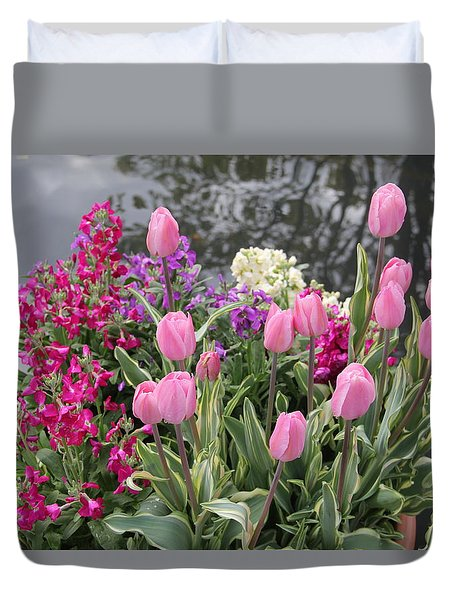 Top View Planter Duvet Cover