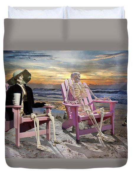Topsail Tales Duvet Cover