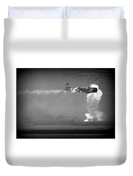 Duvet Cover featuring the photograph Tora, Tora, Tora At The Reno Air Races by John King