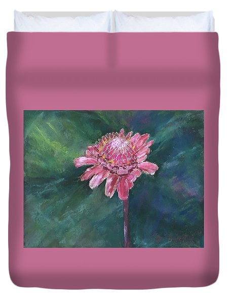 Torch Ginger Duvet Cover