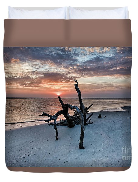 Torch Duvet Cover