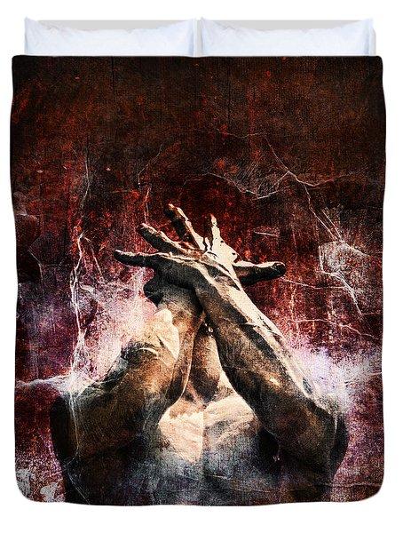 Torment Duvet Cover