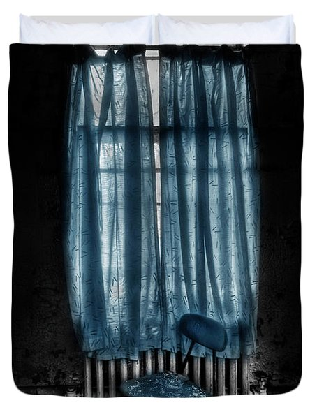 Tormented In Grace Duvet Cover