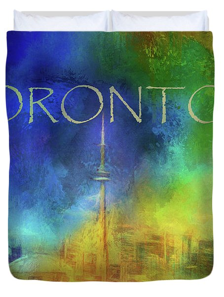 Toronto - Cityscape Duvet Cover