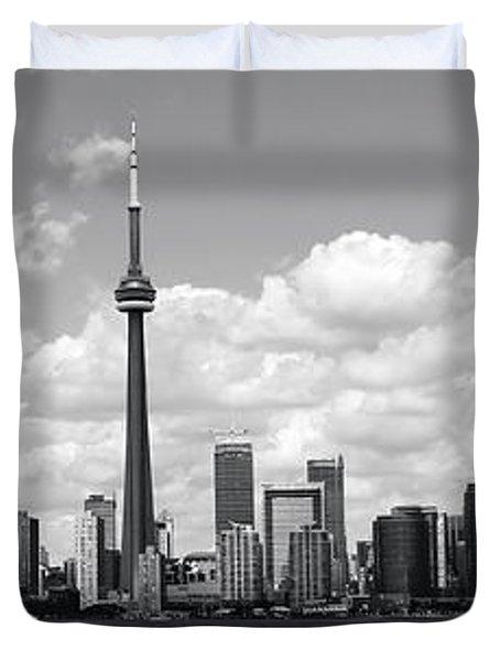 Toronto Skyline 11 Duvet Cover