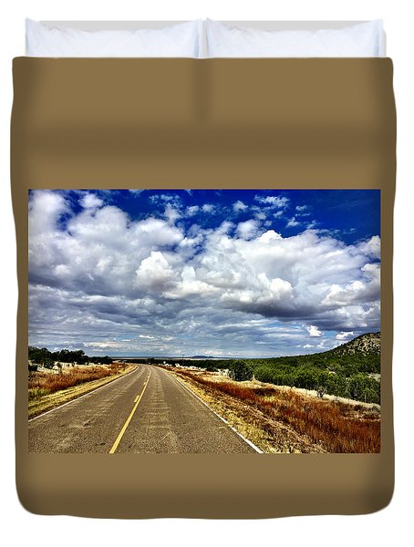 Torrance County Clouds Duvet Cover