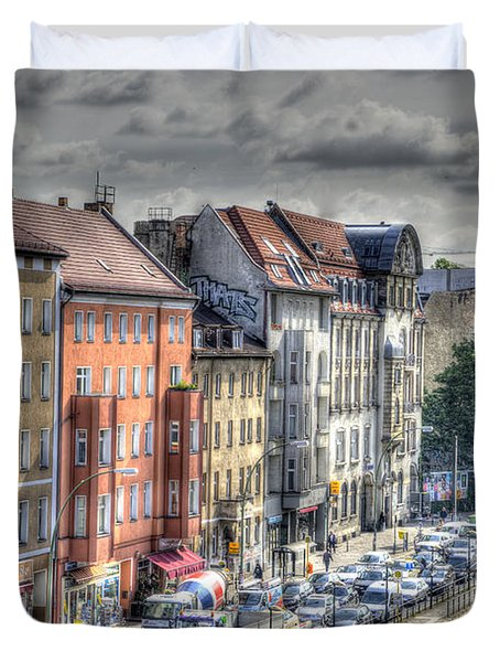 Torstrasse Berlin Duvet Cover