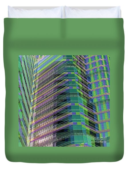 Abstract Angles Duvet Cover