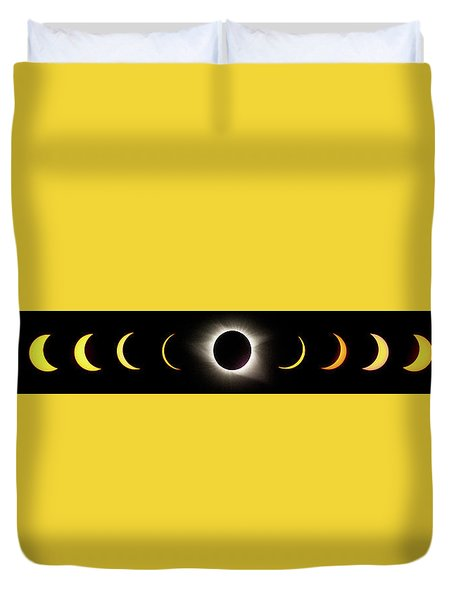 Total Eclipse 2017 Duvet Cover