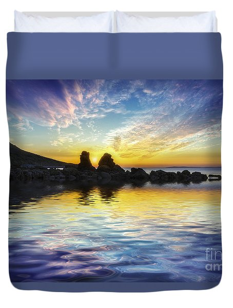 Total Peace Duvet Cover