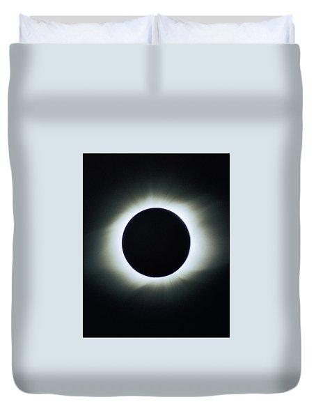 Total Solar Eclipse - Aruba 1998 Duvet Cover