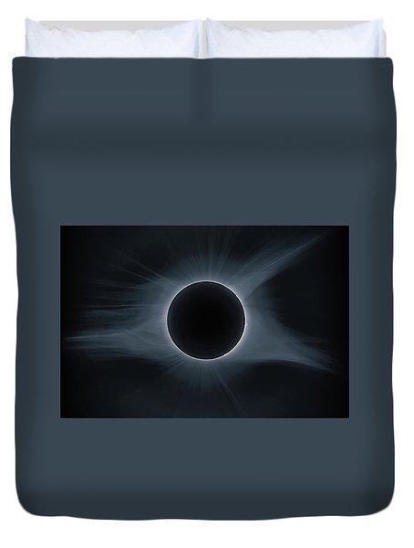 Total Solar Eclipse Corona Duvet Cover