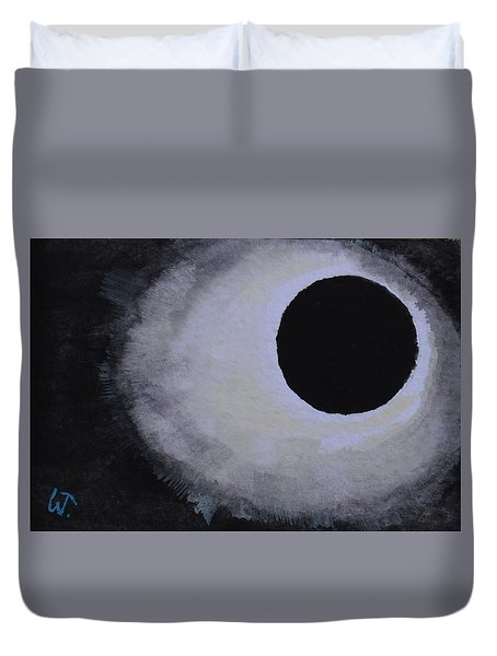 Total Solar Eclipse Duvet Cover