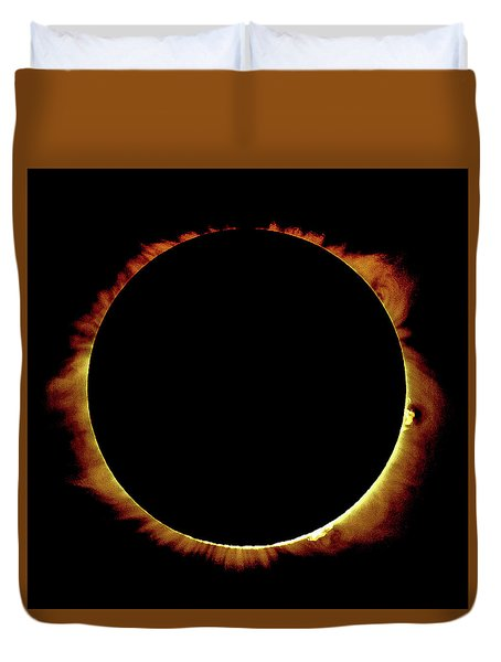 Totality Over Processed Duvet Cover