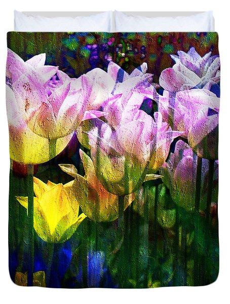 Totally Tulips Duvet Cover