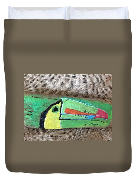 Toucan Duvet Cover by Ann Michelle Swadener