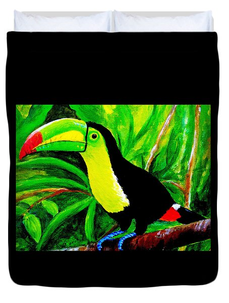 Toucan Sam Duvet Cover