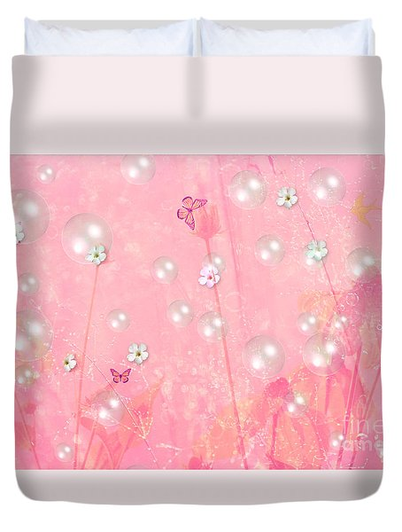 Touch Me In The Morning Duvet Cover