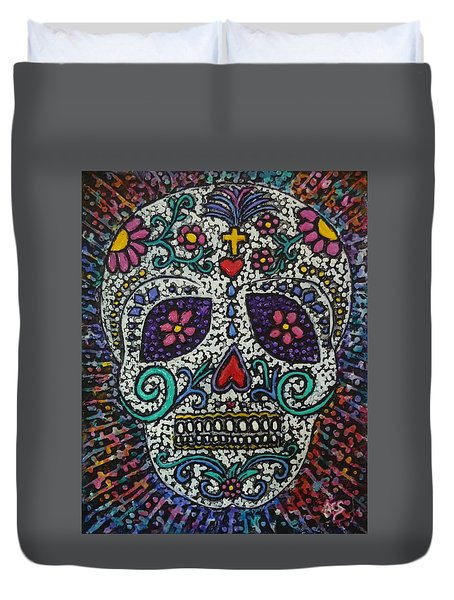 Touch Of Death Duvet Cover