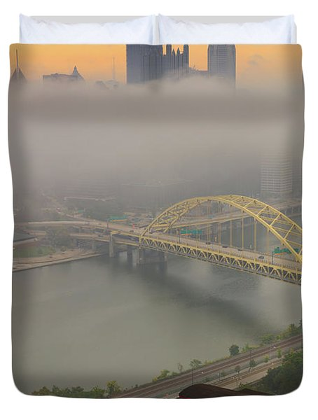 Touch Of Fog  Duvet Cover