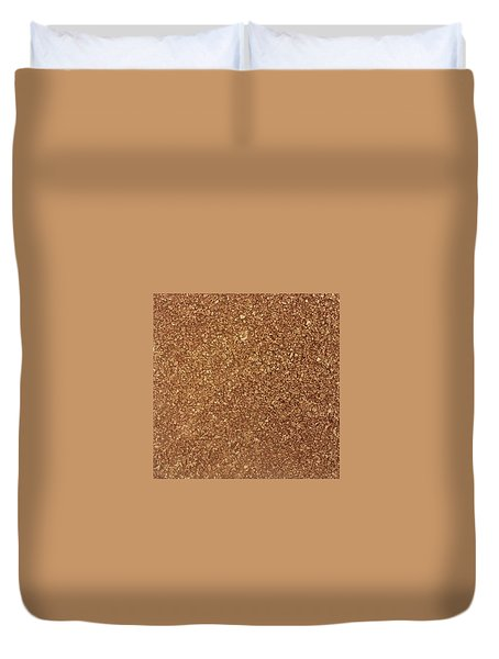Touch Of Gold Duvet Cover