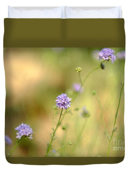 Touch Of Lavender Light Duvet Cover