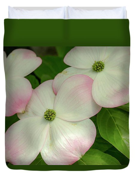 Touch Of Pink2 Duvet Cover