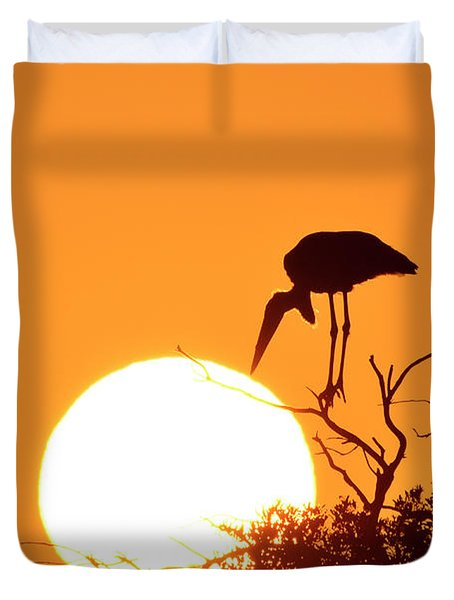 Touching The Sun Duvet Cover