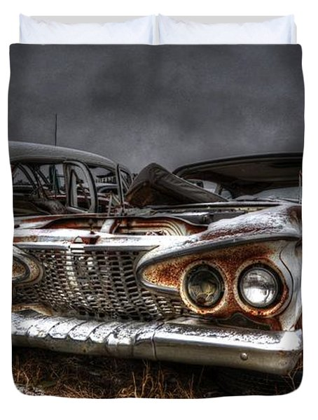 Tough Guy Duvet Cover