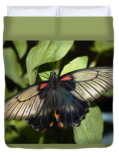 Duvet Cover featuring the photograph Touch Of Gold by Living Color Photography Lorraine Lynch