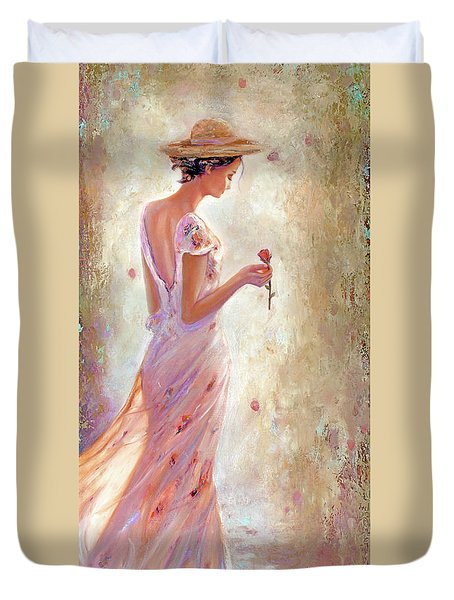 Toujours De Fleurs Duvet Cover