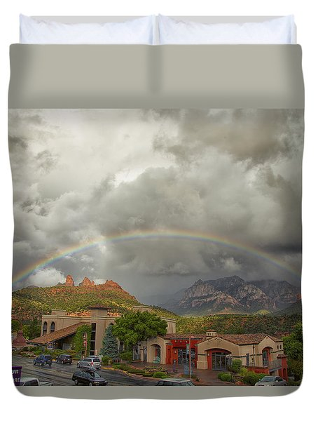 Tour And Explore Duvet Cover