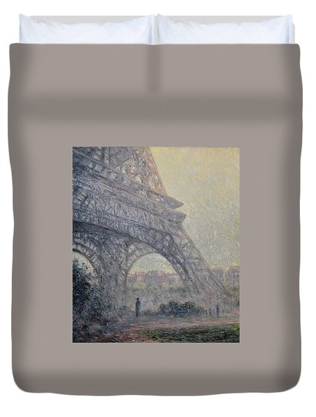 Paris , Tour De Eiffel  Duvet Cover