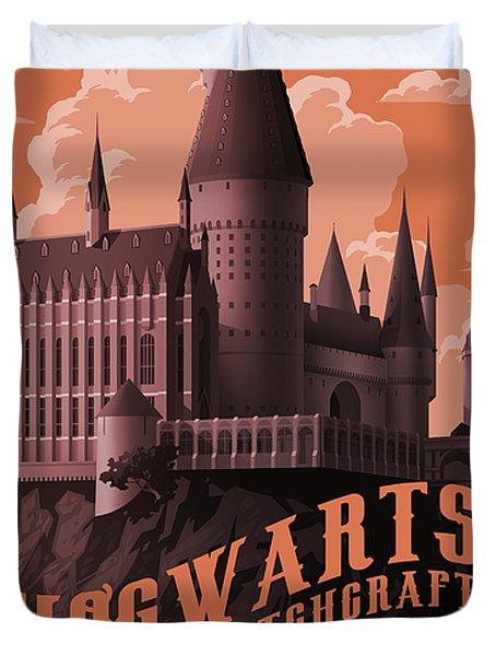 Tour Hogwarts Castle Duvet Cover