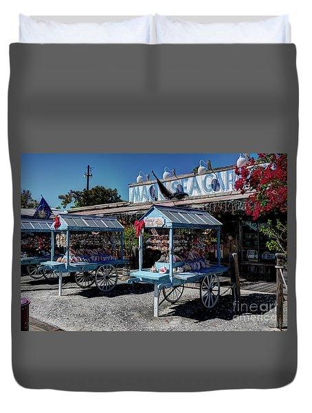 Tourist Souvenir Shell Carts Duvet Cover