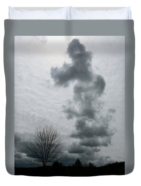 Toward The Sun Duvet Cover