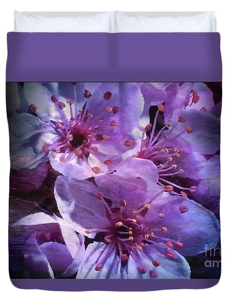 Towards The Light Duvet Cover by Tlynn Brentnall