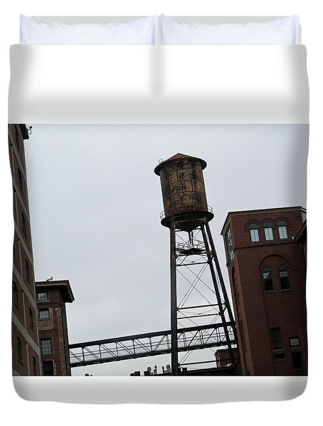 Tower At The Mill Duvet Cover