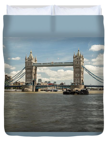 Tower Bridge A Duvet Cover