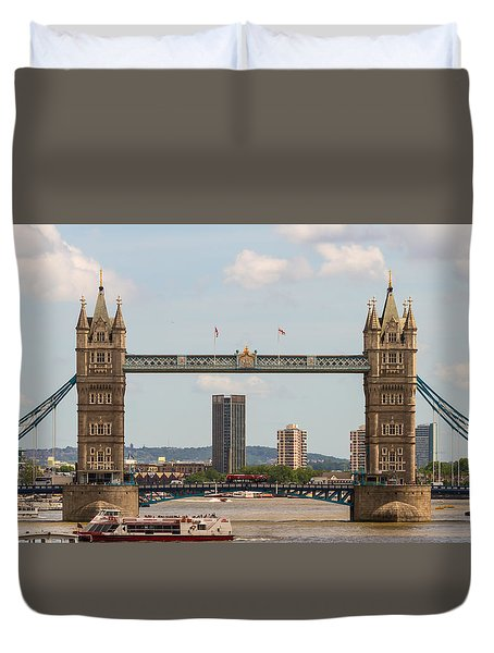 Tower Bridge C Duvet Cover