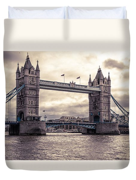 Tower Bridge Duvet Cover by Patrick  Leeflang