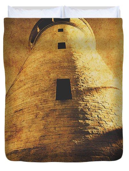 Tower Of Grunge Duvet Cover