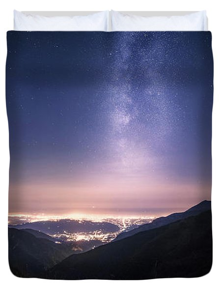 Tower Of Infinity Duvet Cover
