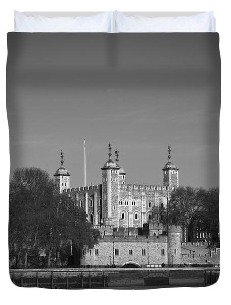 Tower Of London Riverside Duvet Cover