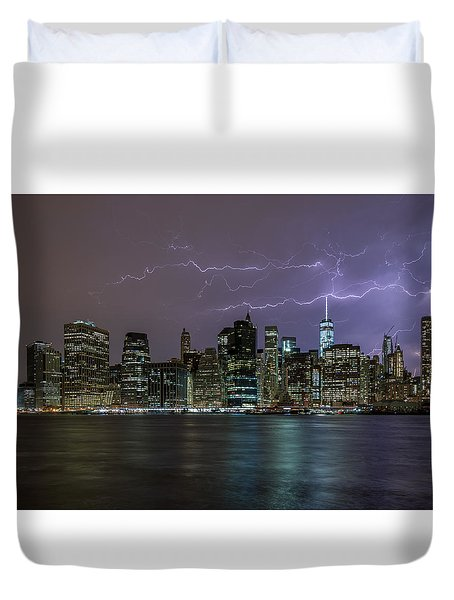 Tower One  Duvet Cover
