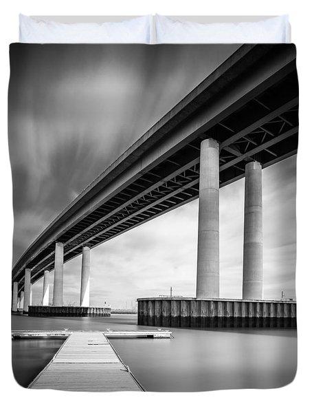 Towering Bridge Duvet Cover