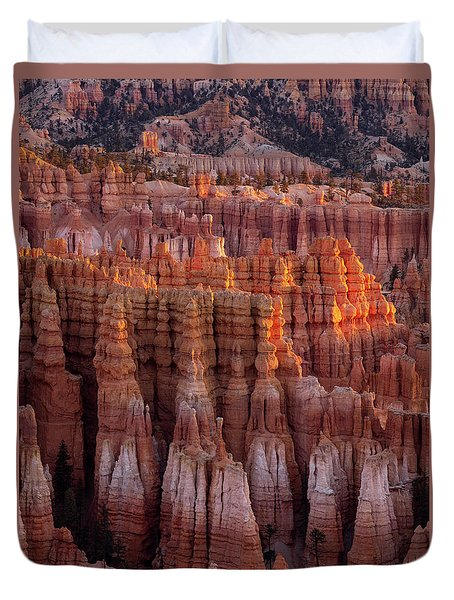 Towers Of Bryce Duvet Cover